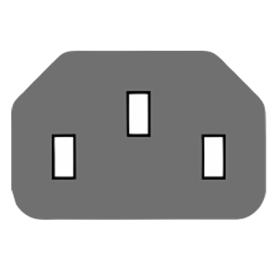 Kabl napojni, za PC, 1.8 met