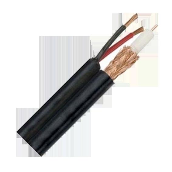RG-59 kabl sa napajanjem, 2x0,75mm, 305met