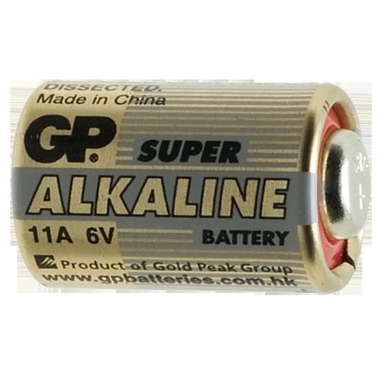 Baterija alkalna, 11A, 6V, kapacitet 38mAh, blister 1 kom.
