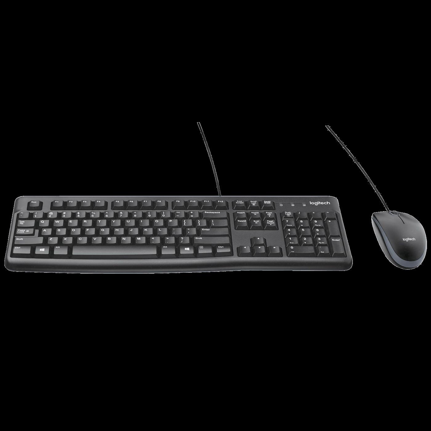 Tipkovnica+miš, set, žični, USB