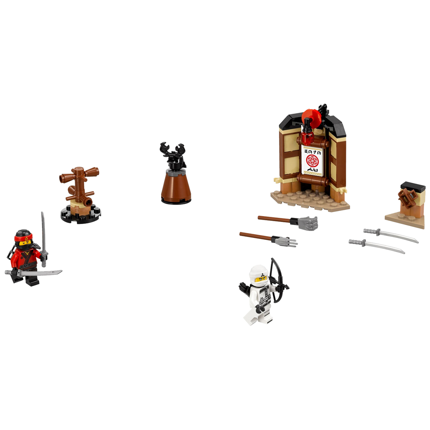Trening spinjitzua, LEGO Ninjago Movie