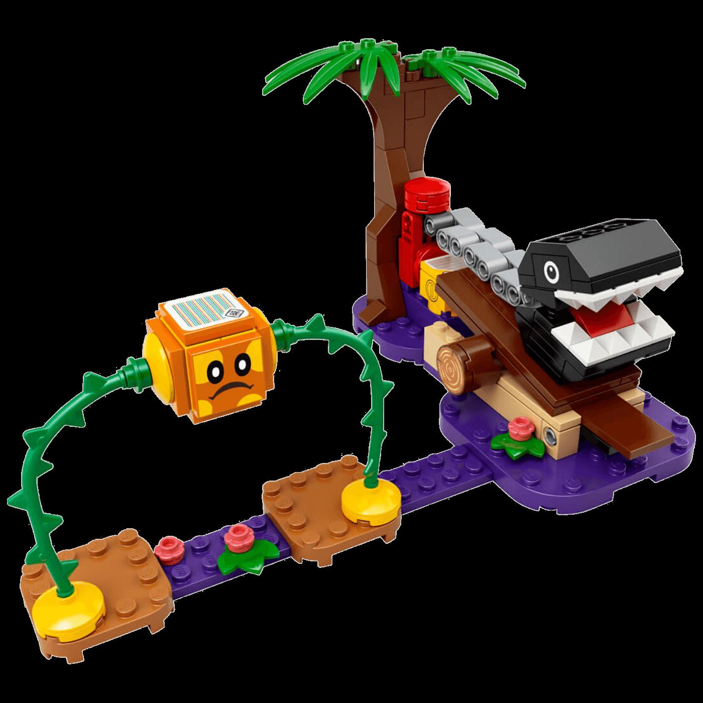 Chain Chomp Jungle Encounter set, LEGO Super Mario
