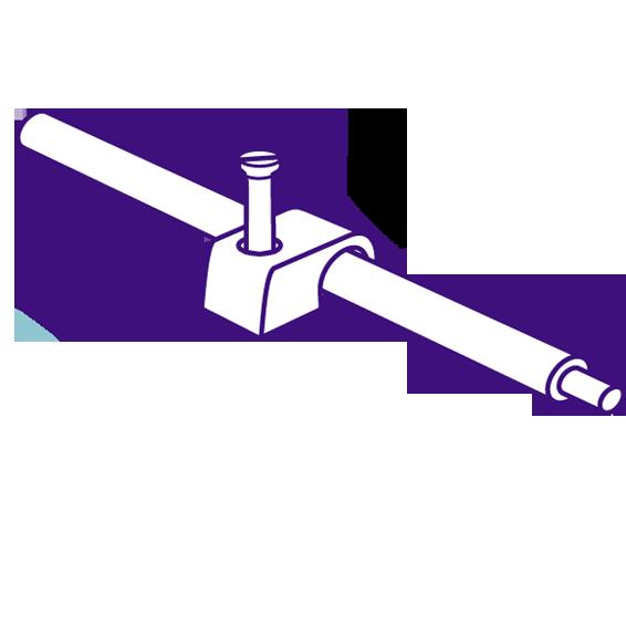 Obujmica 6mm, pakiranje 50 kom