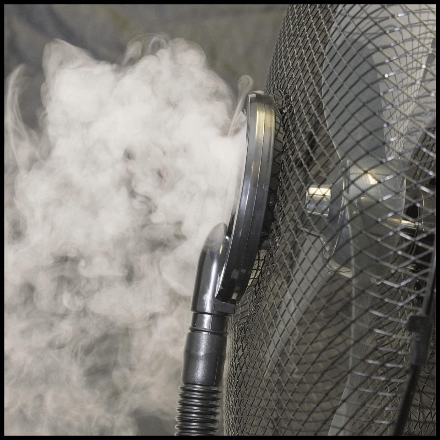 Ventilator sa raspršivačem vode, daljinski upravljač, 90 W