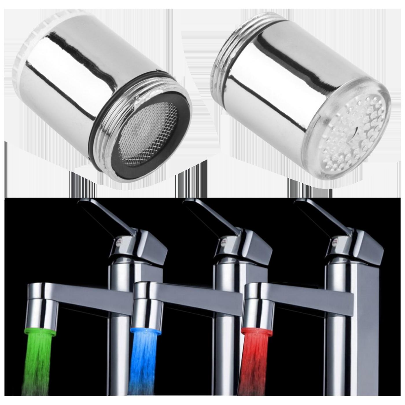 Senzor temperature, LED, color RGB