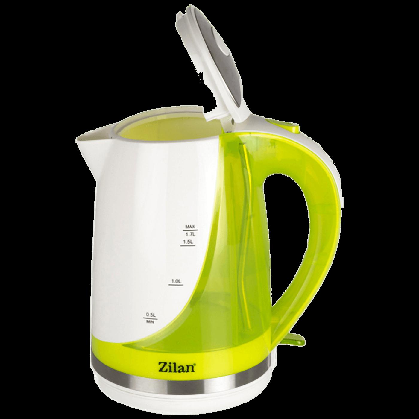 Kuhalo za vodu, zapremina 1.7 l, 1850-2200 W, zelena
