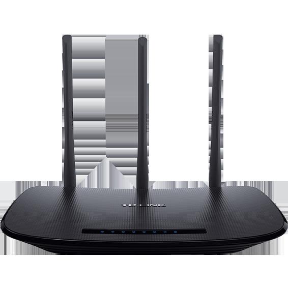 Wireless N Router, 4 porta, 450Mbps, 3 x 5dBi antena