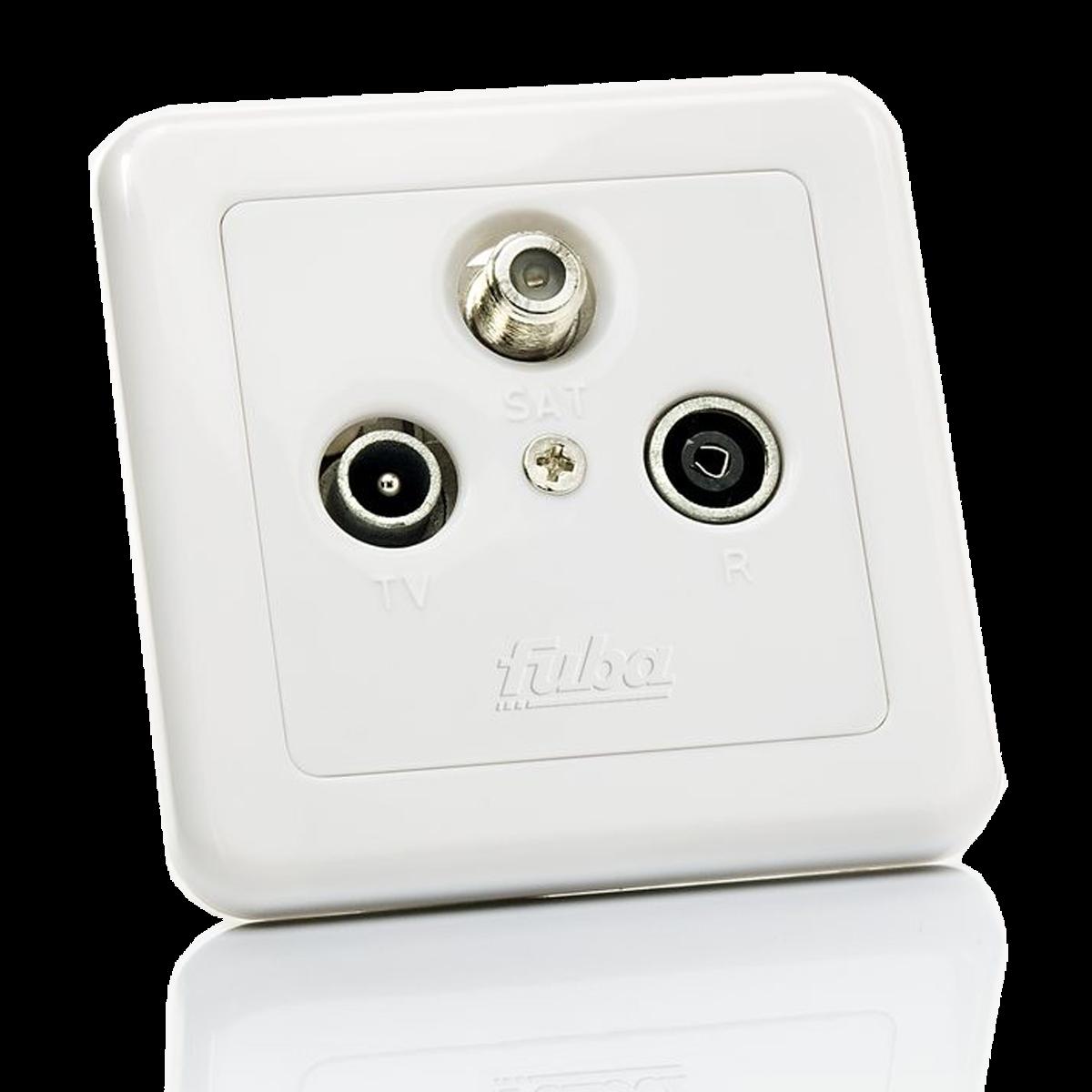 Utičnica, TV / SAT / FM, 5 - 2400MHz, 1 dB
