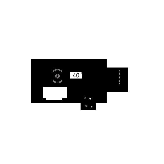 Razvodna kutija rigips 40x39, IP30
