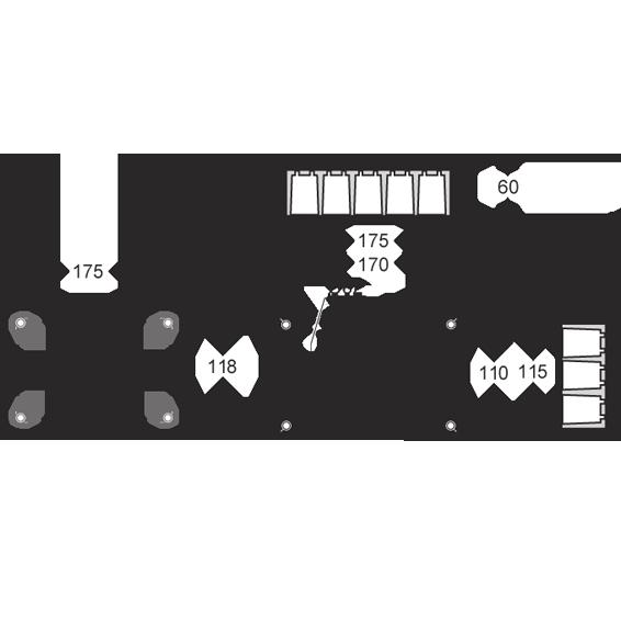 Razvodna kutija podžbuk 160x100, IP30