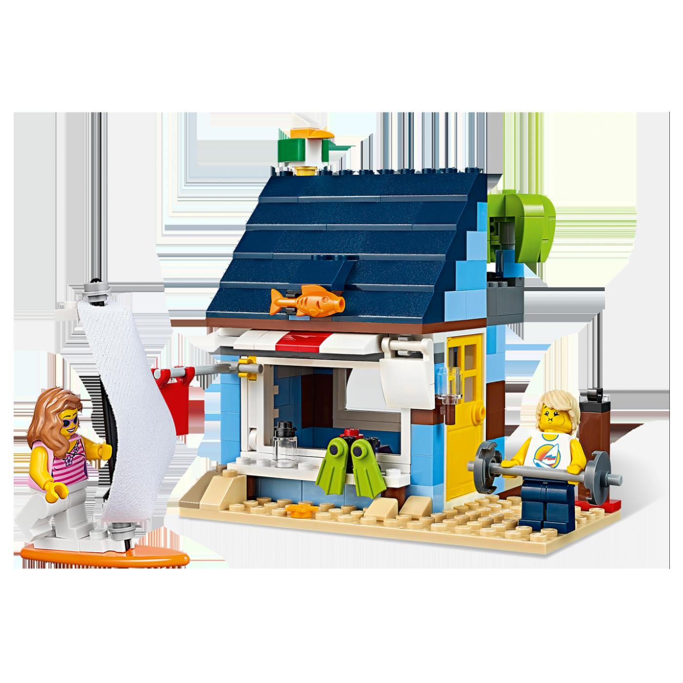 Odmor na plaži, LEGO Creator