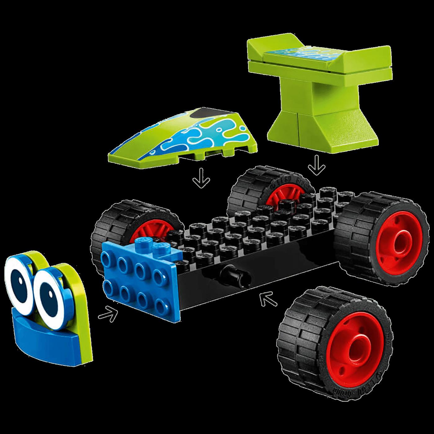 Woody i RC, LEGO Junior
