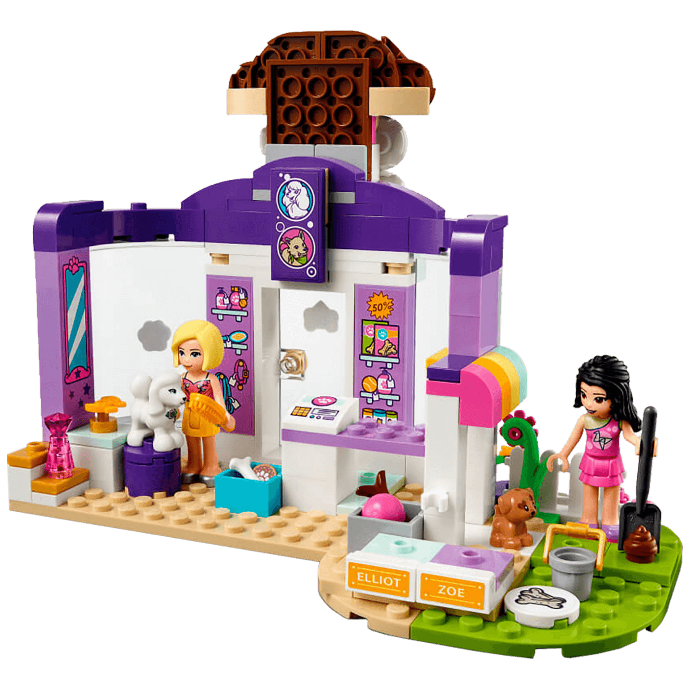 Vrtić za pse, LEGO Friends