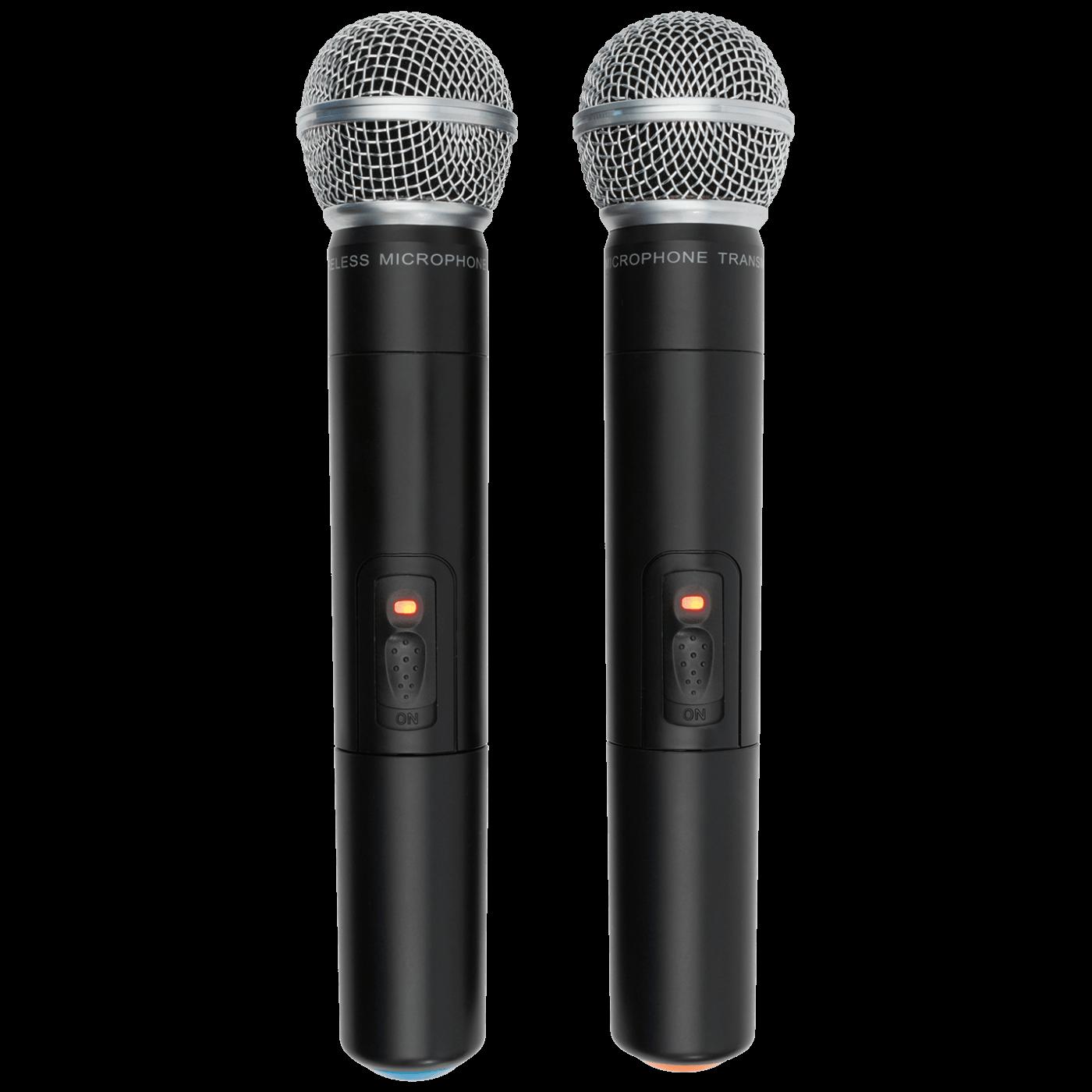 Bežični set, 2 bežična mikrofona i prijemnik, 100 met.