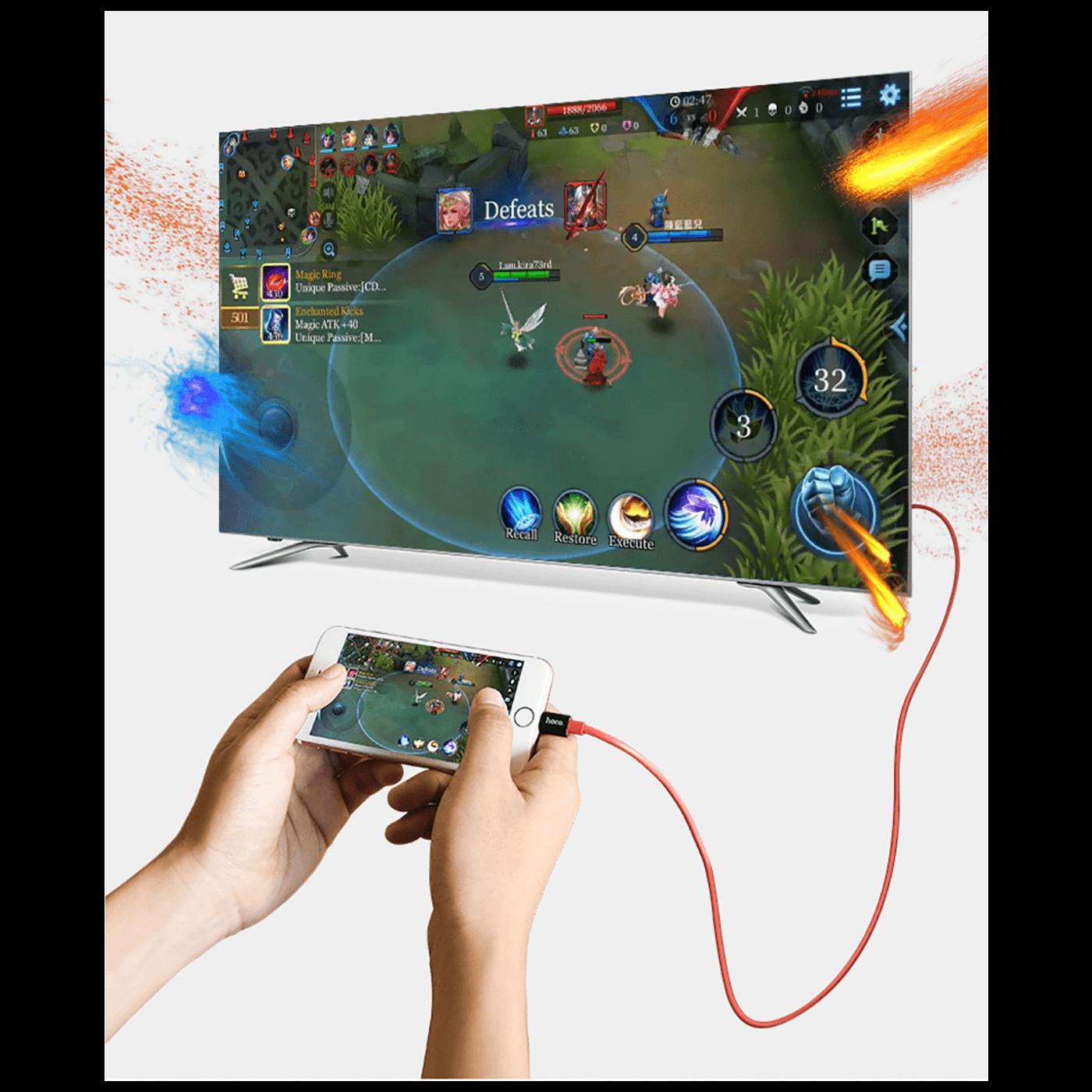 Adapter, audio/video, Lightning na HDMI / USB, 1080p