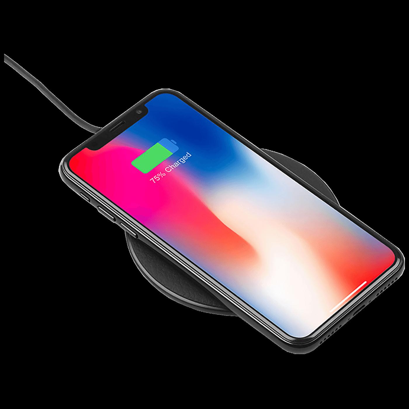 Punjač bežični, univerzalni, za smartphone, 5 W, crna