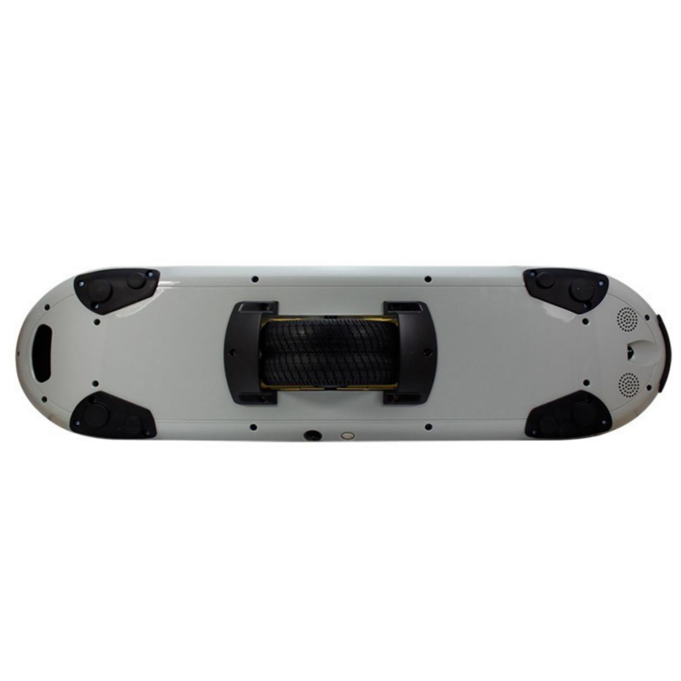 Skateboard, električni H3, 500W, 15-20km7/h,crno/bijeli
