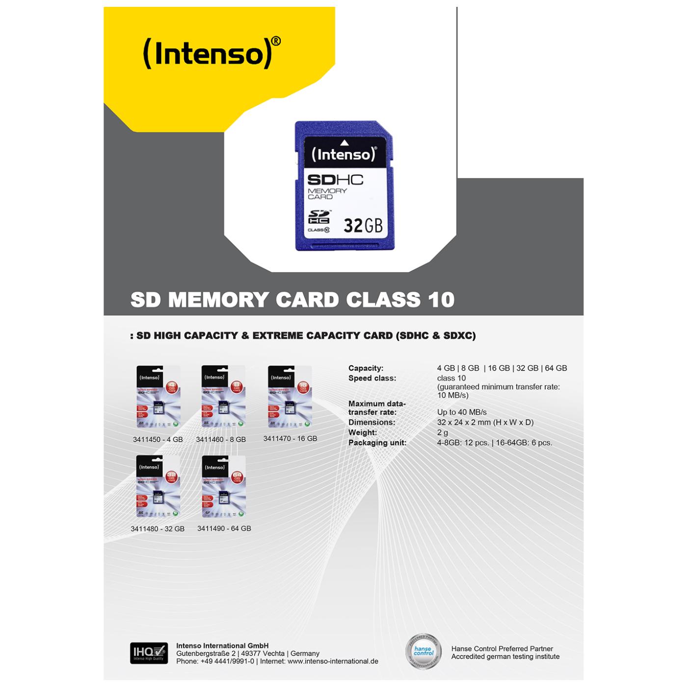 SD Kartica 32GB Class 10 (SDHC & SDXC)
