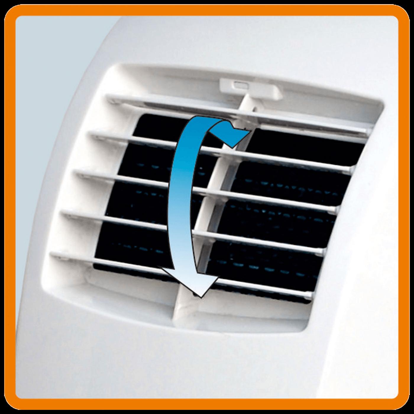 Klima uređaj, mobilni, 2.64 kW, 9000 Btu