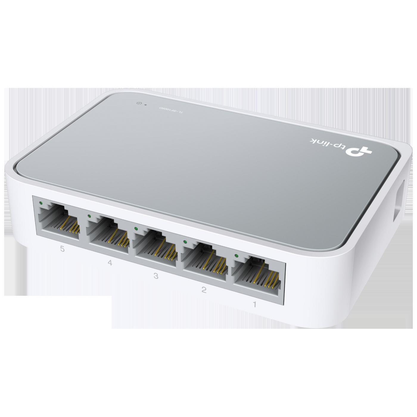 5-Portni switch, 200Mbps, 10/100M