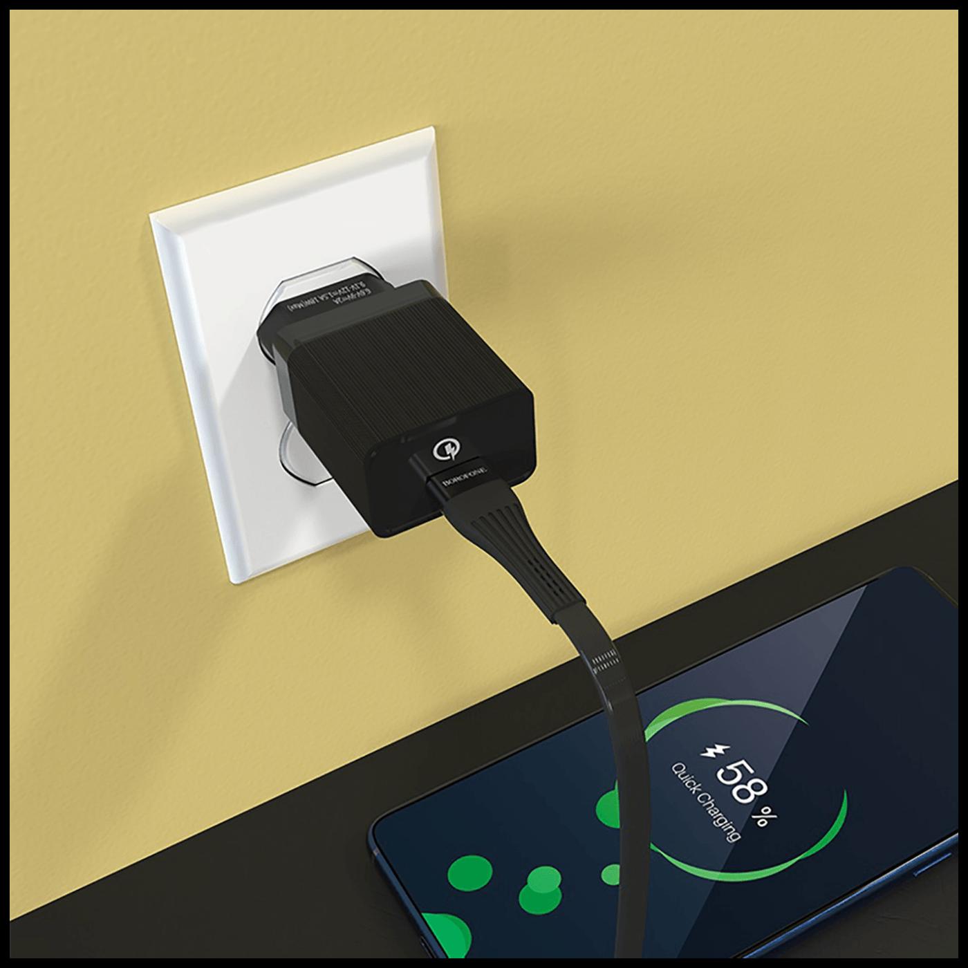 Punjač kućni, brzi, za smartphone, tablete..., 1 x USB,3.0 A