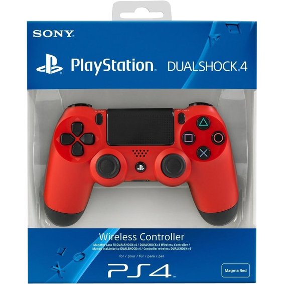 Dual Shock Controler V2 PS4-Red