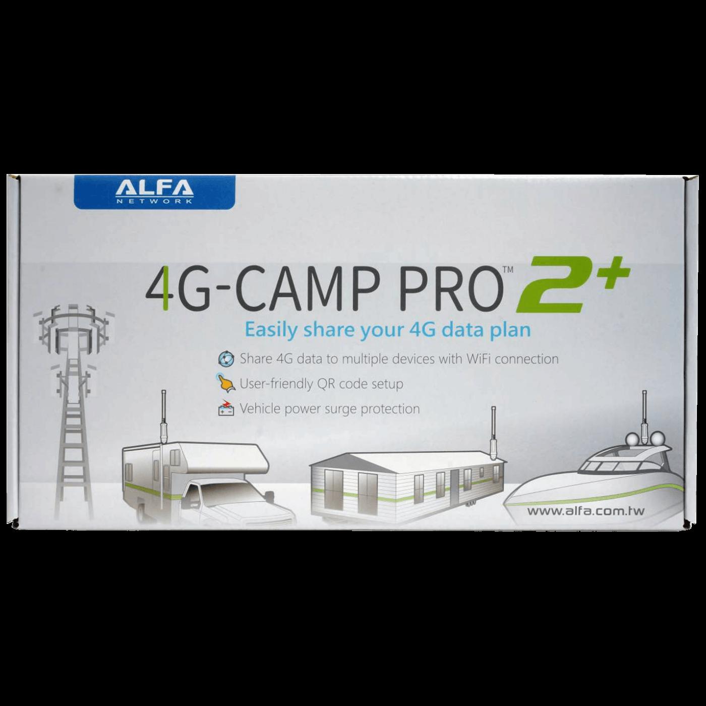 4G Camp Pro 2+ to Wifi,  2.4 GHz, Set