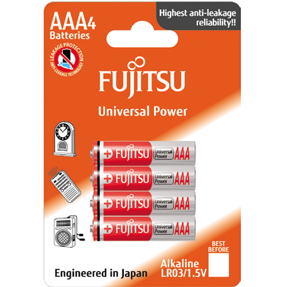 Baterija alkalna AAA/LR03, 1.5V, blister  4 kom