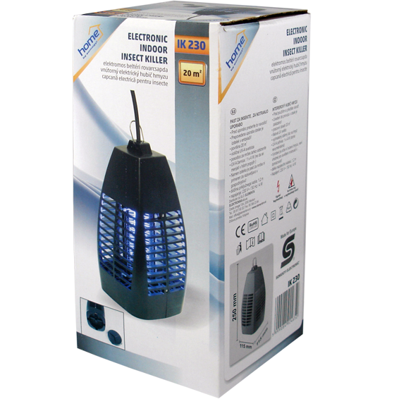 Električna zamka za insekte, UV svjetlost 4W