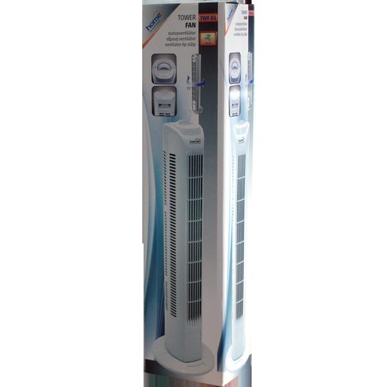 Ventilator stupni, 3 brzine, 45 W, 80 cm, ±75°