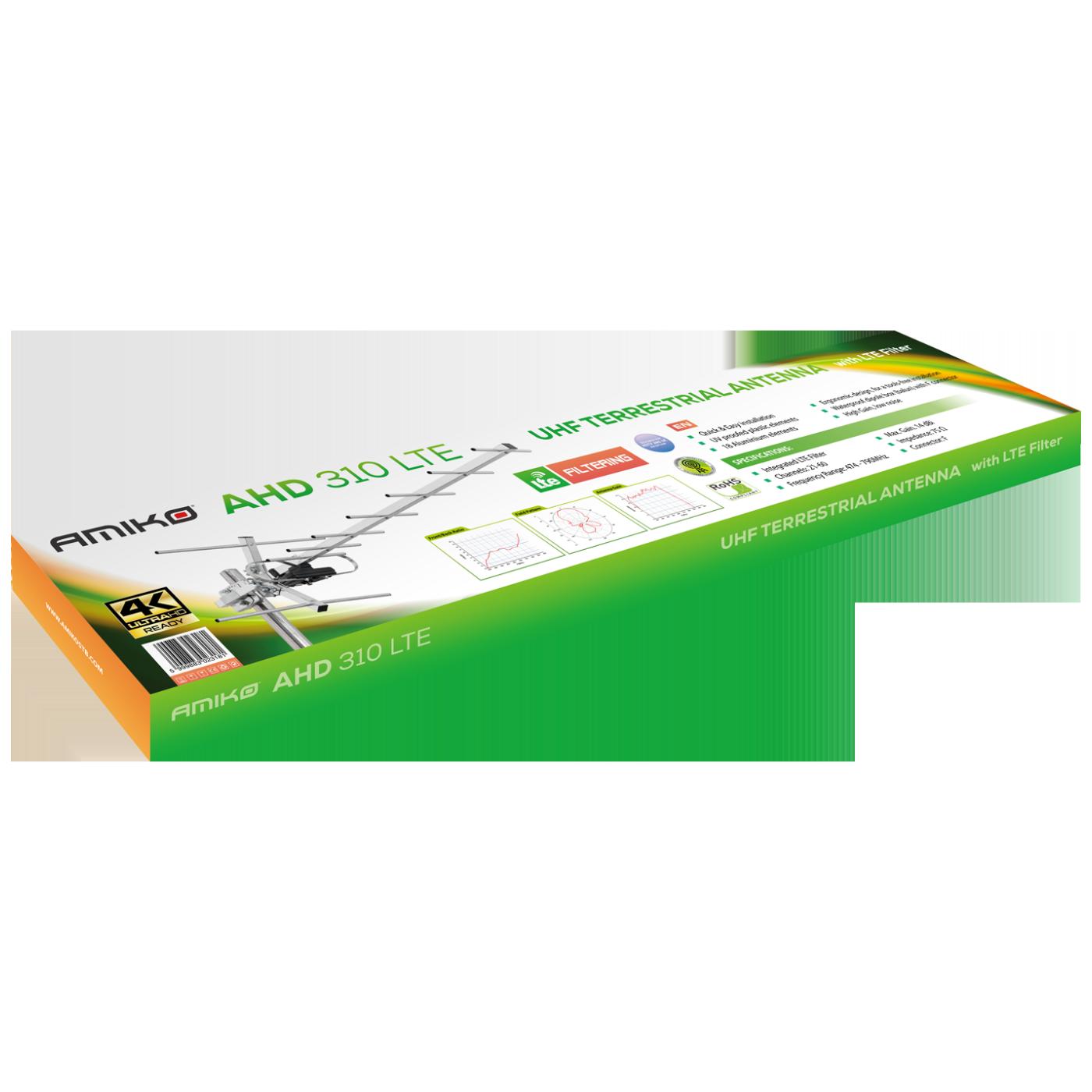 Antena Loga UHF 18 elemenata, Alu, 14dB, LTE filter