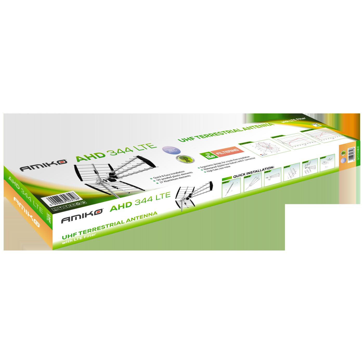 Antena Triplex Loga, 27 elementa,Alu, 15.5db, LTE filter