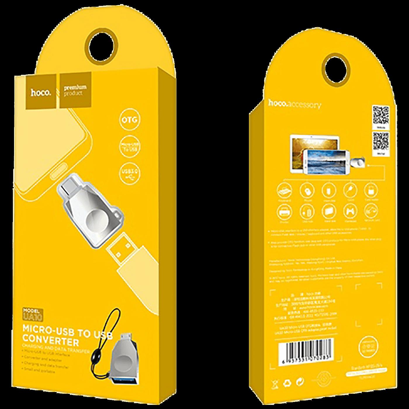 Adapter micro USB na USB, OTG
