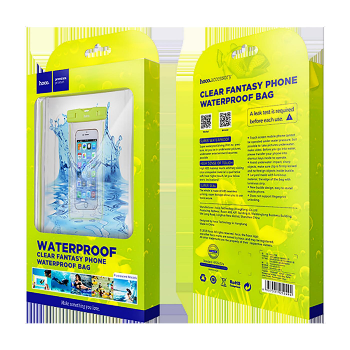 Clear fantasy waterproof bag, GR