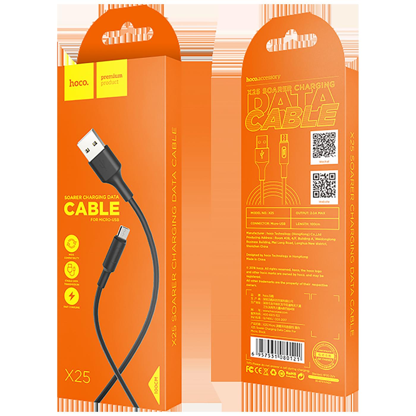 X25 Soarer Micro USB, Black