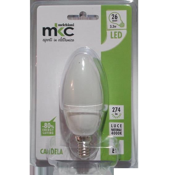 Sijalica,LED 3.3W, E14,4000K,220V AC,prirodno bijela svjet