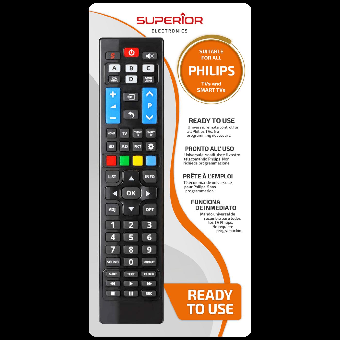 Daljinski upravljač za Philips TV prijemnike