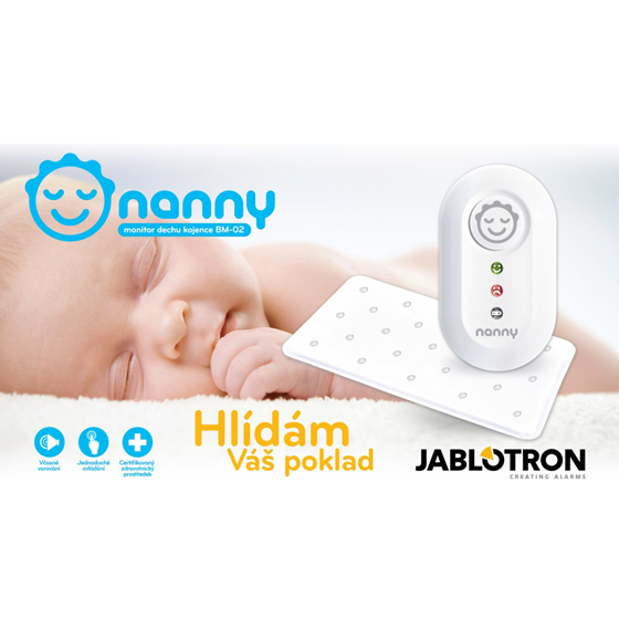 Baby monitor disanja