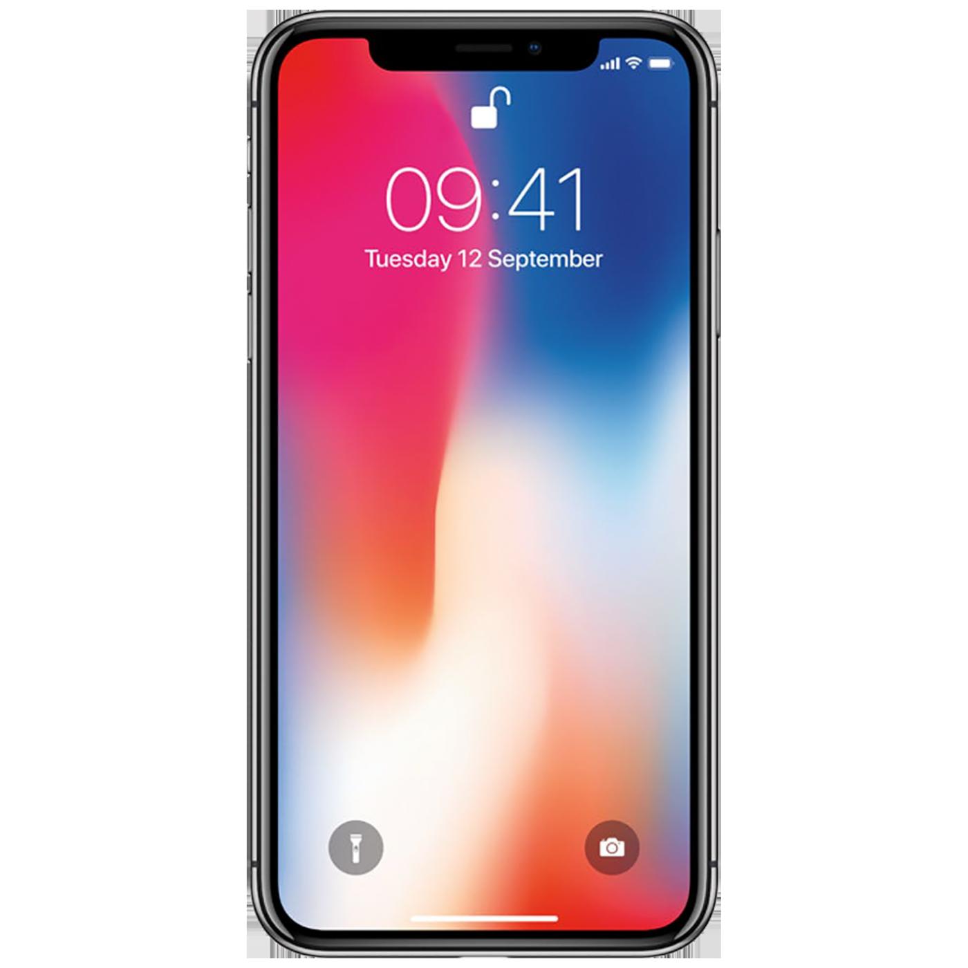iPhone X 64GB Silver,MQAD2ZD/A