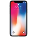 Apple - iPhone X 64GB Silver,MQAD2ZD/A