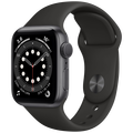 Apple - Watch Series 6 GPS 44mm Space Gray