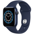 Apple - Watch Series 6 GPS 44mm Blue
