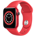 Apple - Watch Series 6 GPS 44mm Red