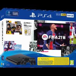 SET Play Station 4,500GB+FIFA21+Kontroler+14d