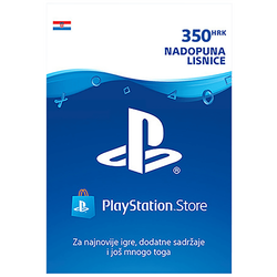 Nadopuna, PlayStation Live Card, HRK 350
