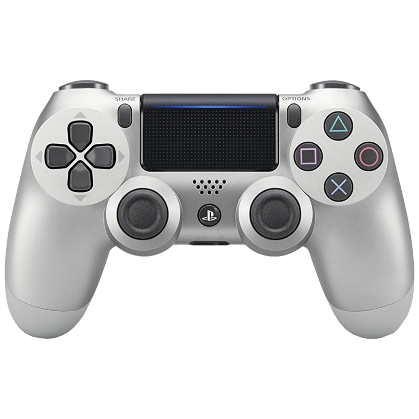Sony - Dualshock Controller v2 Silver PS4