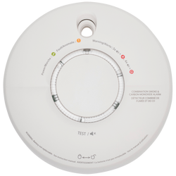 Detektor, kombinirani, Carbon monoxide / dim