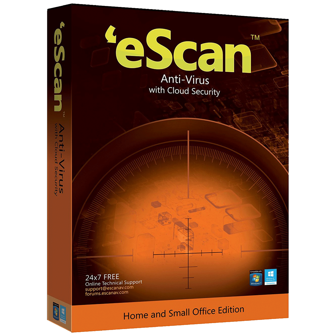 eScan - ESCAN ANTI VIRUS WIN.CLOUD SEC.