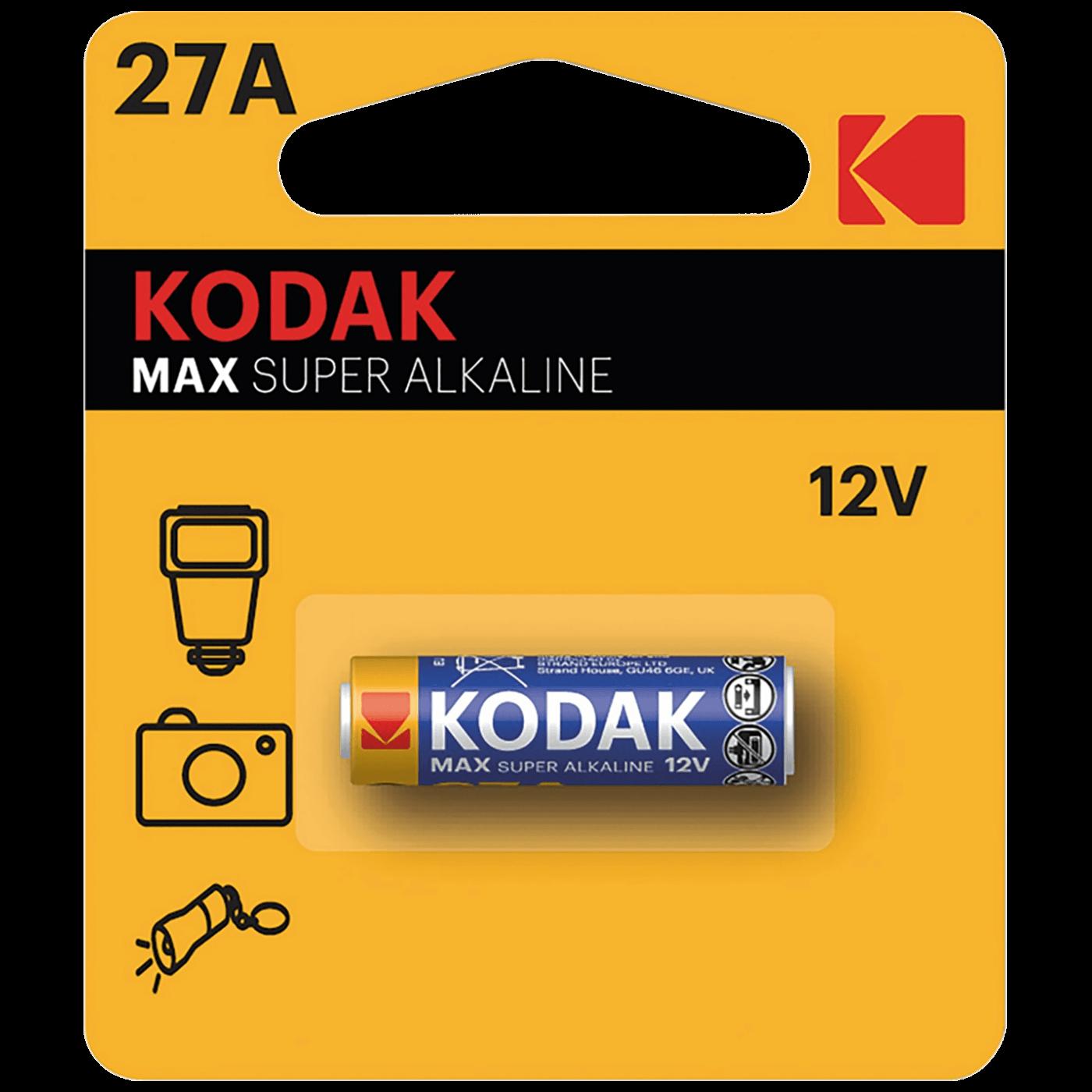 Baterija alkalna, LR27A, 12V, blister pak. 1 kom