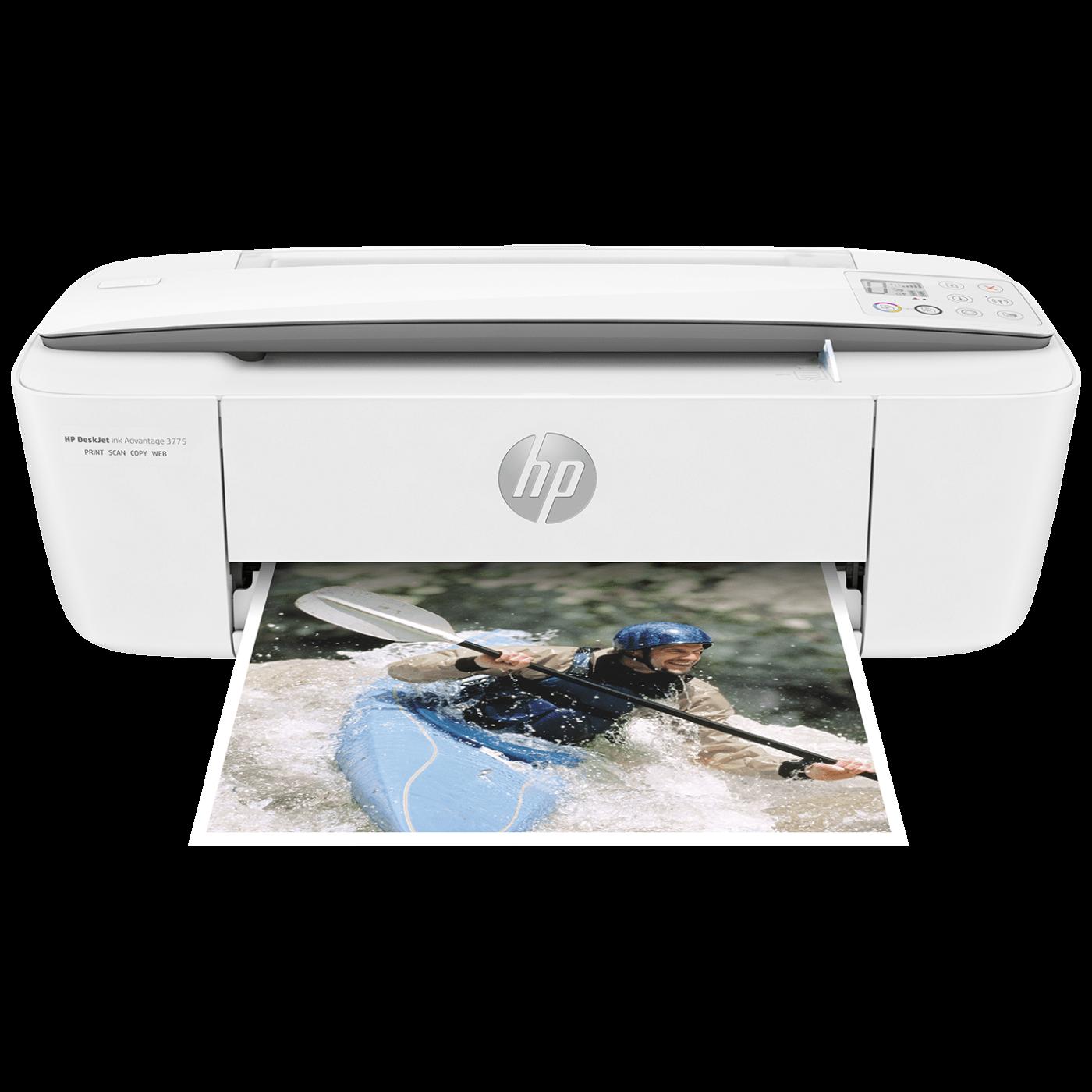 Printer / kopir / skener, WiFi, LAN, DeskJet 3775 AiO